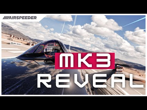 Airspeeder Mk3   World's First Electric Flying Racing Car Unveiled