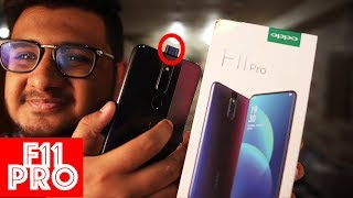 Oppo F11 Pro Unboxing | Pop Camera Design?
