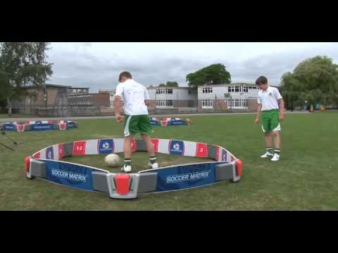 football pass machine