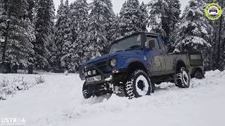 Snow Off-Road with Suzuki Gypsy | Snowfall | Winter In Kashmir | Off-Road Adventure