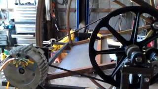 Water Wheel Pma Power Generator