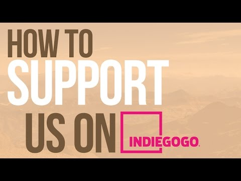 Video Tutorial - How to support us on Indiegogo