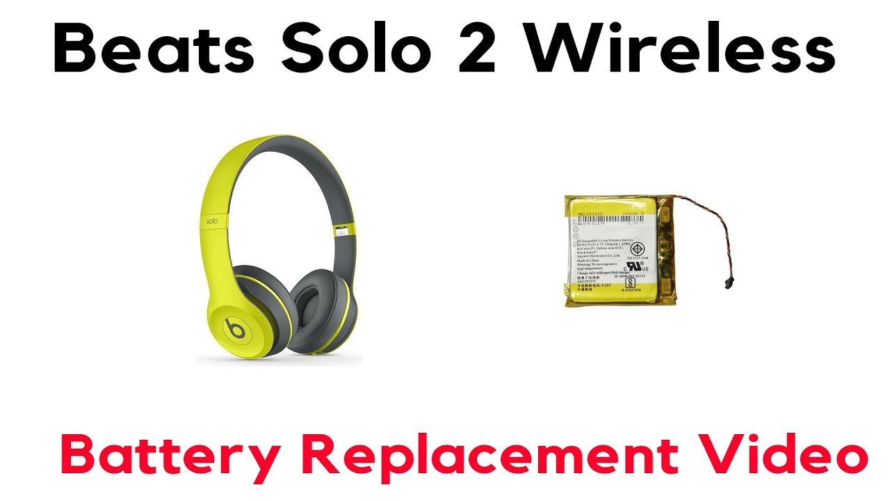 Battery Disconnect Switch Wiring Diagram Yamaha Grizzly 125 Carburetor How To Replace Beats Solo 2 Wireless Swap Repair Fix - Youtube