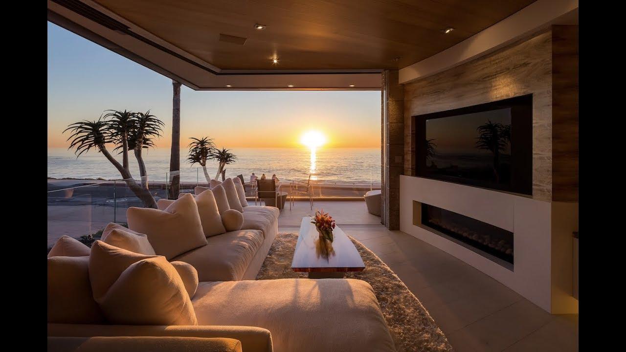 living room la jolla interior design ideas yellow marine lair oceanfront home for sale youtube