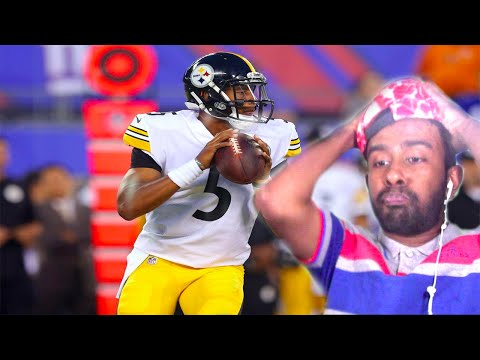 Joshua Dobbs 1st Career Game Highlights Giants vs Steelers Preseason(REACTION)