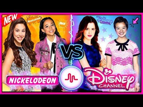 Disney Stars VS Nickelodeon Stars Musical.ly Battle! | Top Famous Celebrity Stars New Musically 2017