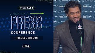 Russell Wilson Postgame Press Conference at Eagles | 2019 Seattle Seahawks