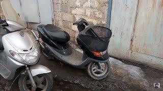 Ремонт скутера Honda dio cesta. Ч.1