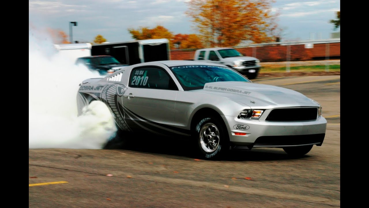Ford Mustang Cobra Jet Top Speed Acceleration at Drag Race - YouTube