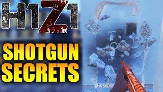 H1Z1 SECRETS MOST PEOPLE DON'T KNOW! - H1Z1 Secret Shotgun Tips! (H1Z1 Secret Guide)