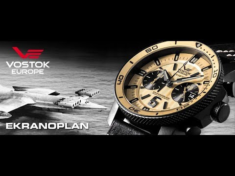 Vostok-Europe Dive Watch Caspian Sea Monster Overview at Basel 2017