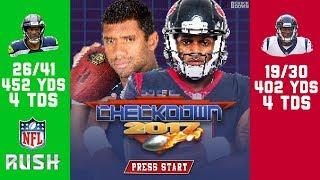 Russell Wilson & Deshaun Watson Put up Video Game-Like Numbers in Week 8 🎮  | NFL Checkdown