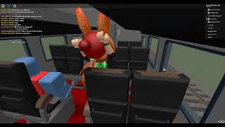 ROBLOX Texas and Southern Railroad Train Ride Part 3