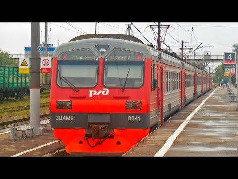 ZDSimulator. Электропоезда 6137 / 6138 Калуга - Сухиничи - Калуга. ТЧМ: Днепровский ТЧМП: Кубышкин