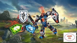 Лего Нексо Найтс сканировать новые комбо-нексо-силы / Scan new combo, nexo-force (combo shields)