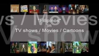 random filipino name dropping in tv shows / movies / cartoons etc