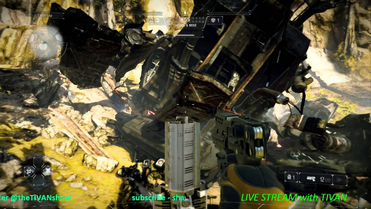 KILLZONE SHADOW FALL live stream with TIVAN