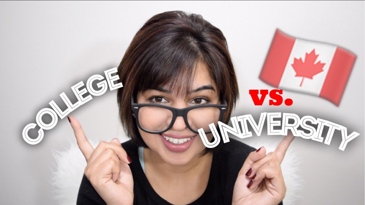 How to | College vs. University| Studying in Canada