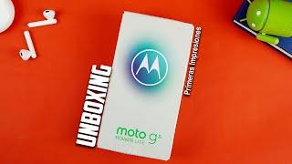 NUEVO Moto G8 Power Lite Unboxing y Primeras impresiones | Tecnocat