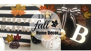 Diy Fall Home Decor 2015