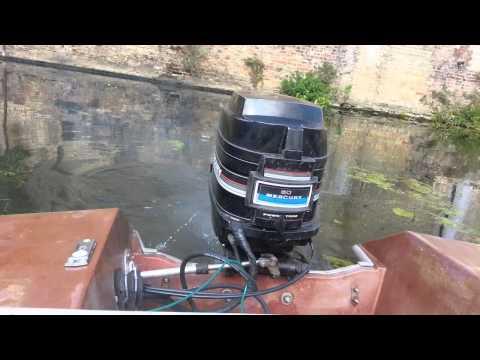 Mercury 80 HP outboard