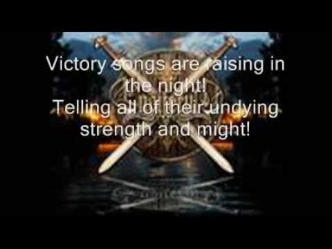 Ensiferum - Victory song with lyrics