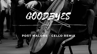 GOODBYES Post Malone - Cello Cover