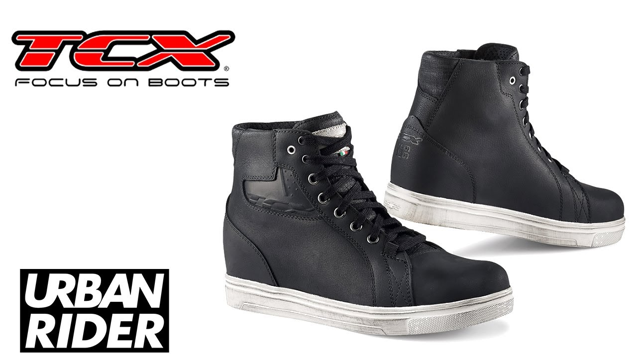 tcx street ace motorcycle boots review urban rider youtube. Black Bedroom Furniture Sets. Home Design Ideas