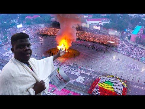 The Biggest Religious Festival In Africa, Ethiopia (Meskel Festival)