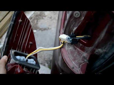 trailer wiring a toyota sienna