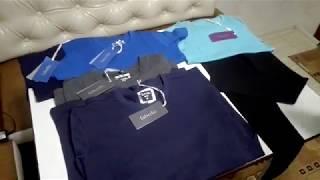 """Обзор футболок мужских и детских для девочки и мальчика  серии """"Basic"""""""