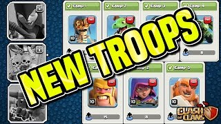 NEW NIGHT VILLAGE TROOPS | SUPER PEKKA | UPDATE | Clash of Clans