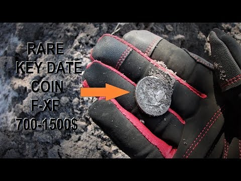 Rare Key Date Coin Metal Detecting The 1800's Orange Grove