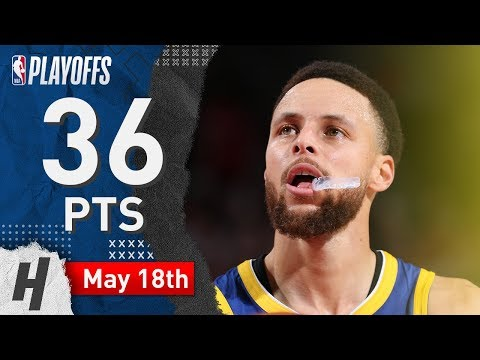 Stephen Curry EPIC Game 3 Highlights Warriors vs Blazers 2019 NBA Playoffs - 36 Pts CLUTCH MODE