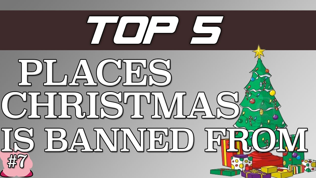 5 Places That Christmas Was Banned From! - YouTube