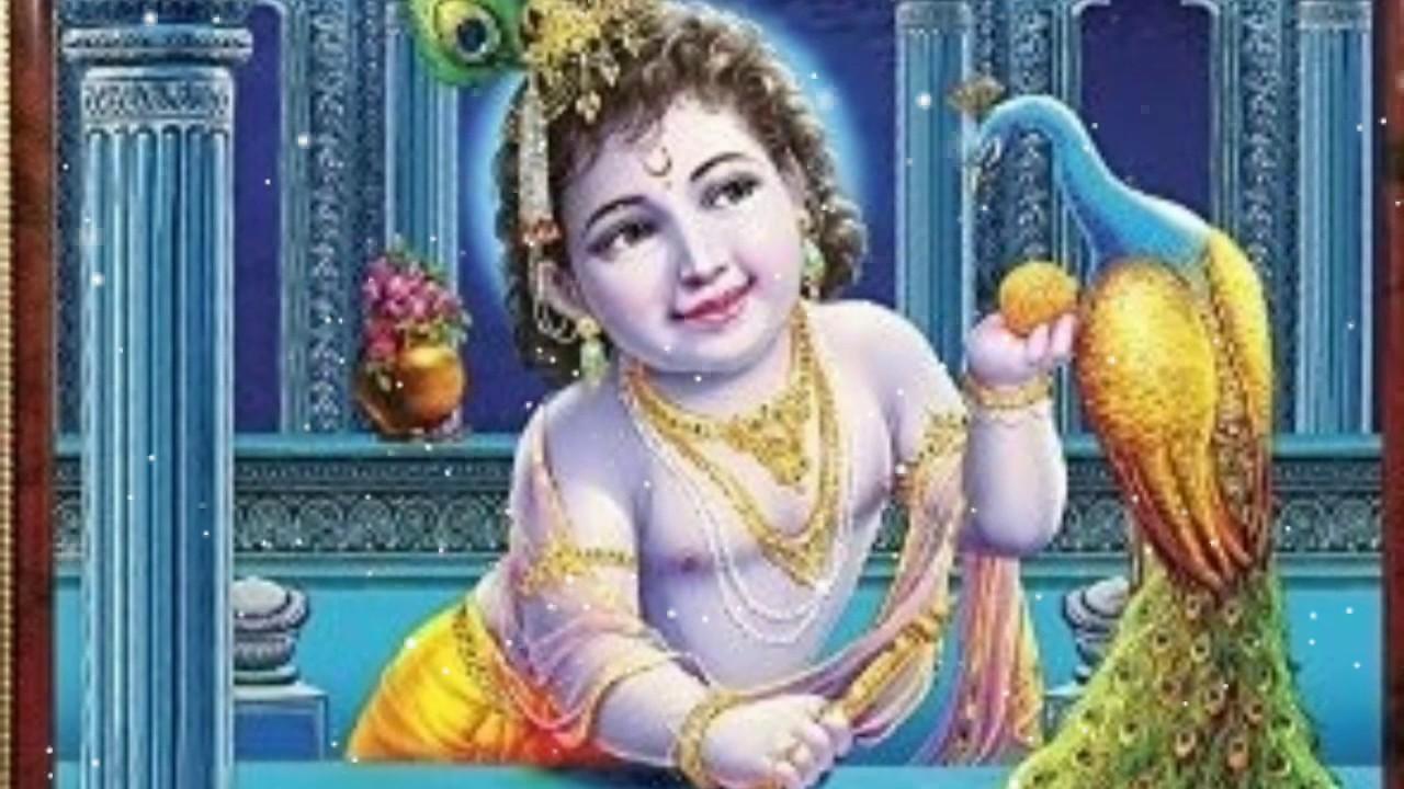 Lord Krishna Good Night Video Youtube