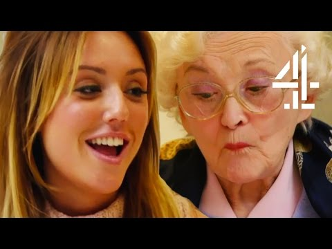 Charlotte Crosby Teaches A Granny About Social Media | A Granny's Guide to the Modern World