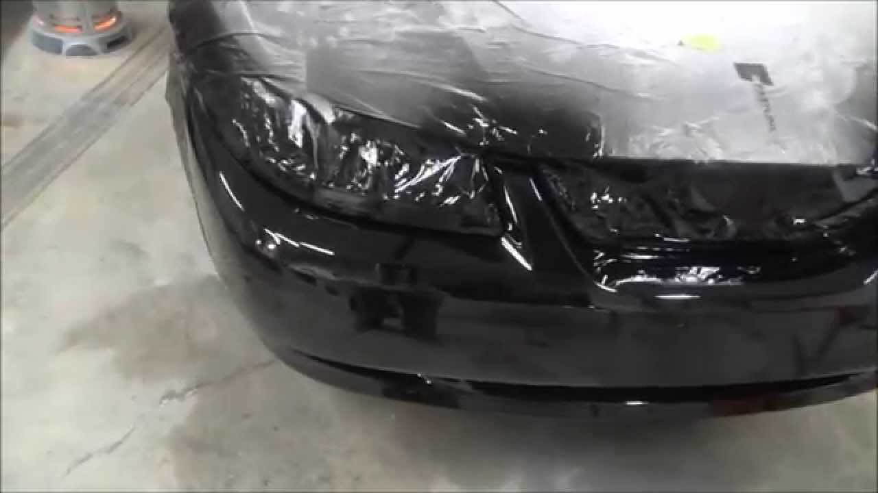 Paint Your Car At Home How To Repair And A Plastic Per Cover You