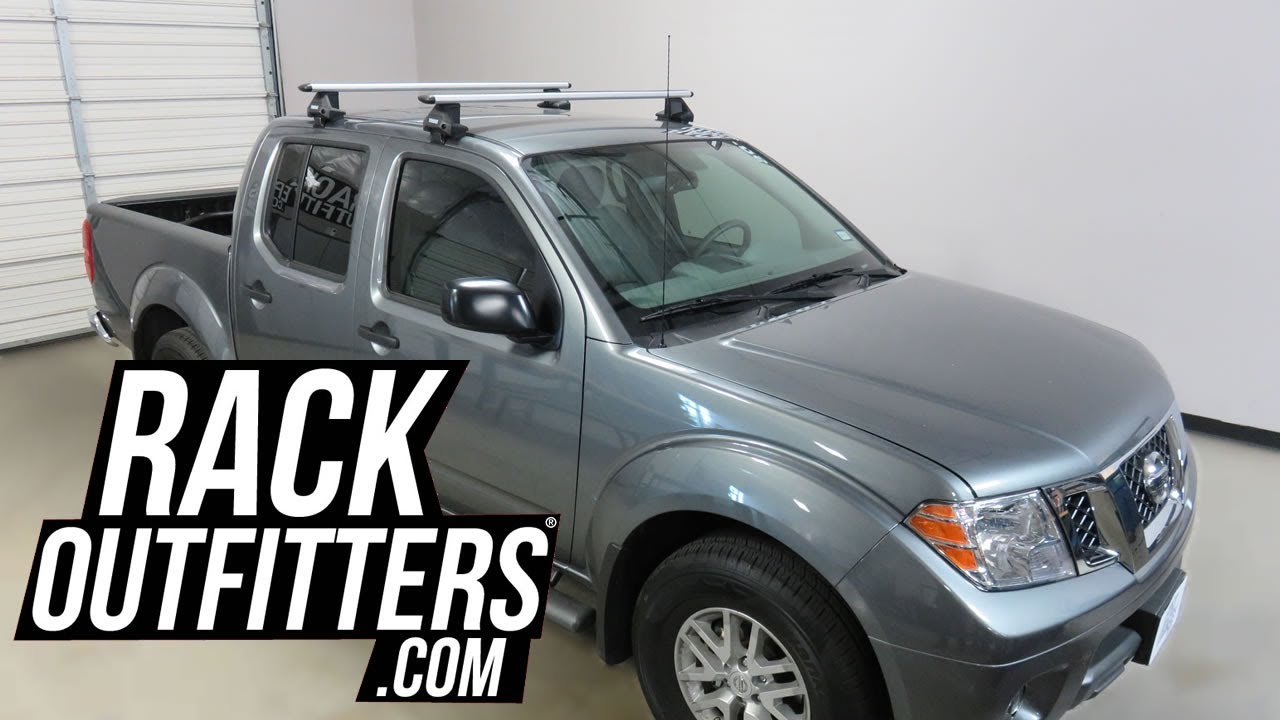 nissan frontier crew cab with thule evo clamp wingbar evo roof rack crossbars