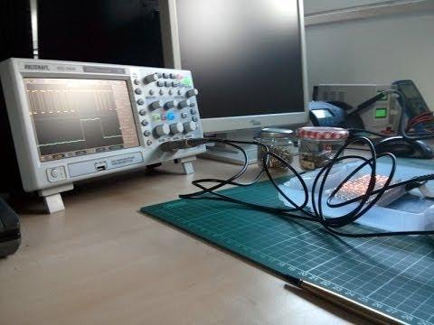 Ein LED-Treiber, flackerndes Licht und Debugging mit dem Oszilloskop