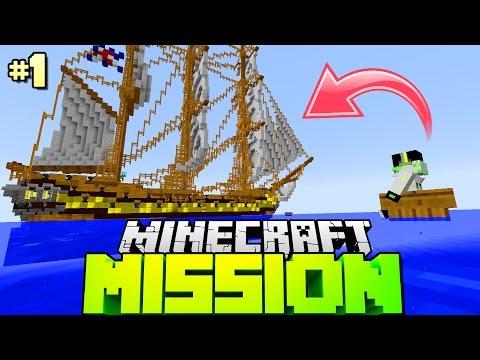 WAS PASSIERT WENN MAN EINEN ECHTEN PIRAT TRIFFT?! - Minecraft Mission [Deutsch/HD]