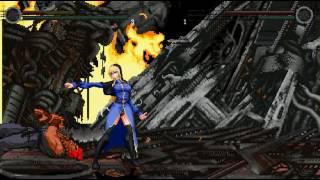 M.U.G.E.N Akuma vs Schlussel AWESOME FIGHT!