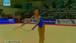 EC 1998 PORTO Yana Batyrchina RUS Rope AA