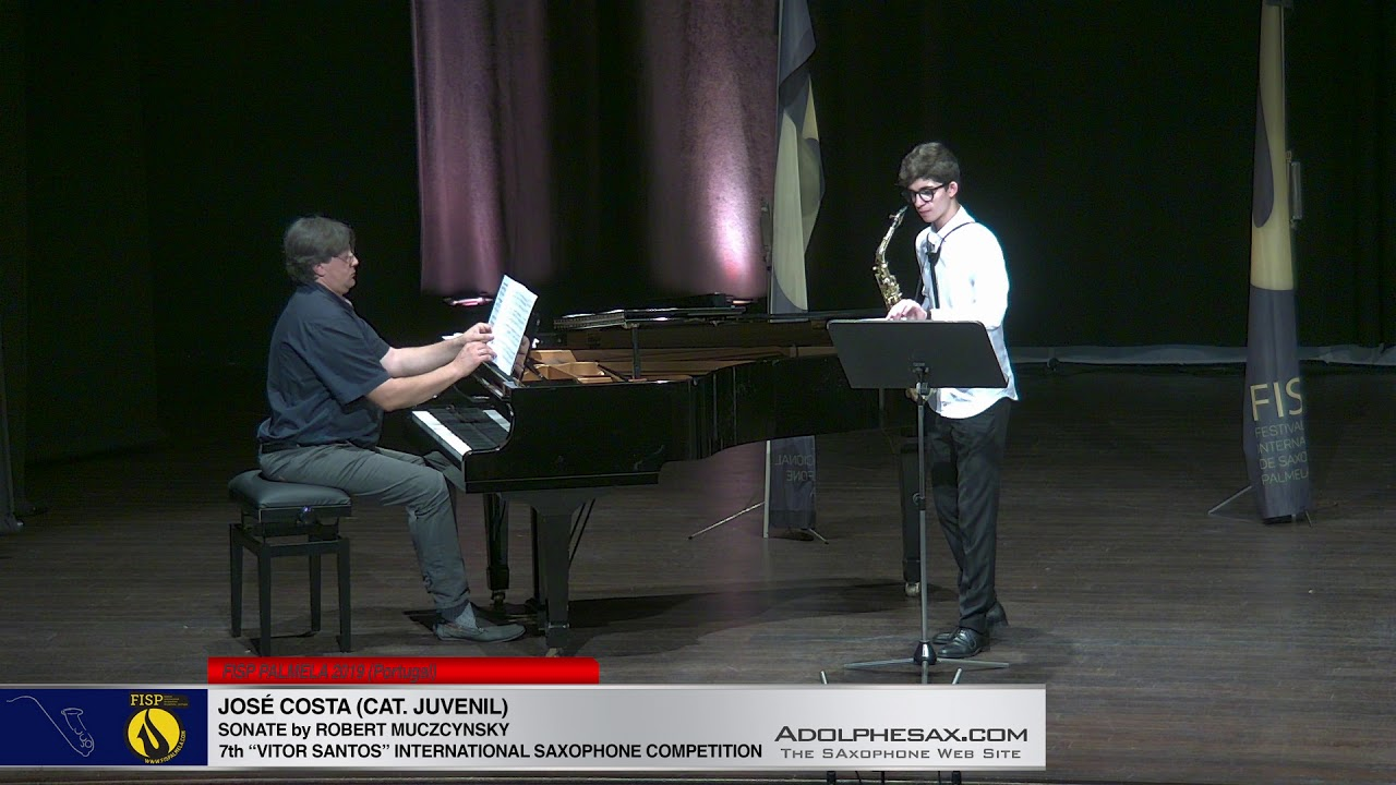 FIS PALMELA 2019  – Jose Costa –  Sonate by Robert Muzcynsky
