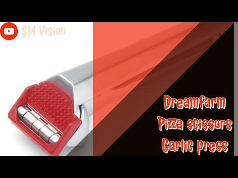 Dreamfarm pizza scissors and garlic crusher