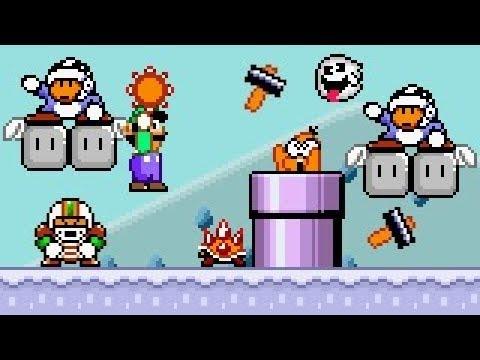Another Mario World 2: Luigi's Mission - SNOW WORLD!! #3