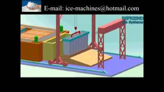 How does block ice plant work