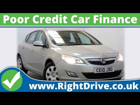 Poor Credit Car Finance - Vauxhall Astra