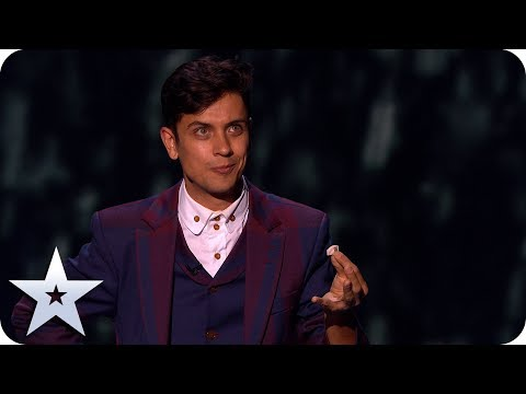 Ben Hart's INCREDIBLE shrinking card trick! | The Final | BGT 2019