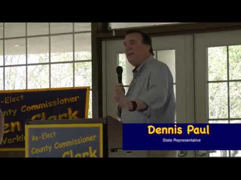 Dennis Paul for Ken Clark   County Commissioner Working For You